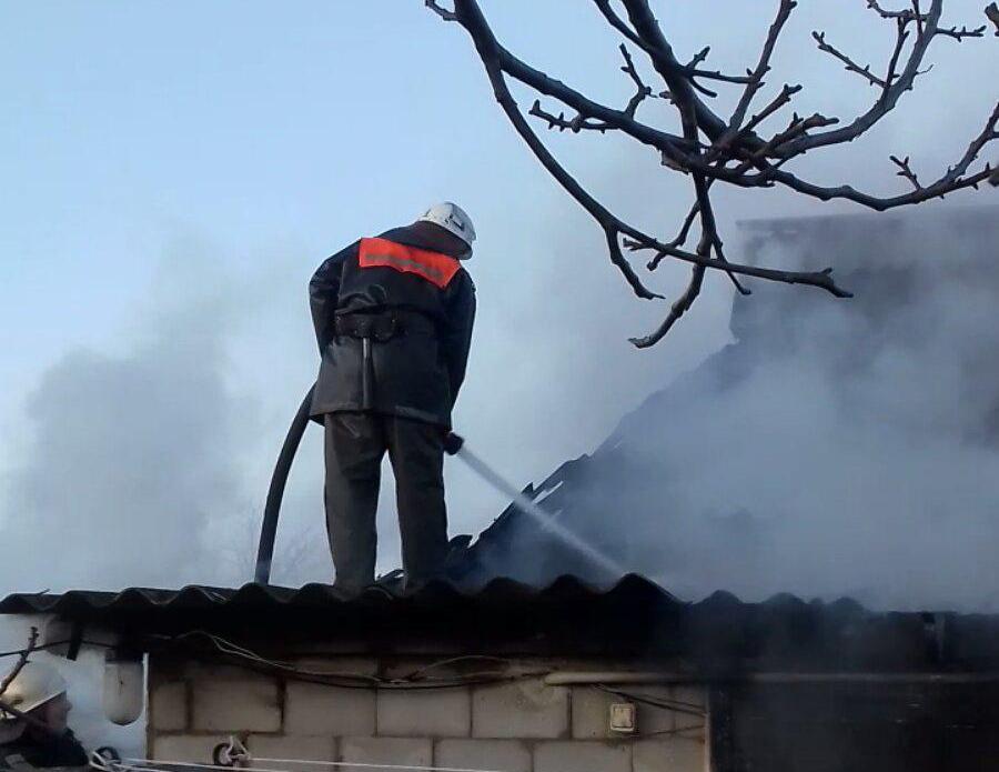 У Білоцерківському районі під час пожежі врятували жінку - ДСНС, Білоцерківський район - yzobrazhenye viber.jpg20