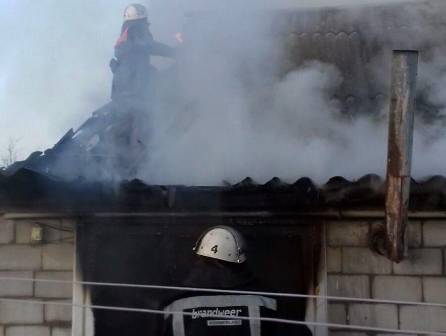 У Білоцерківському районі під час пожежі врятували жінку - ДСНС, Білоцерківський район - yzobrazhenye viber.jpg21