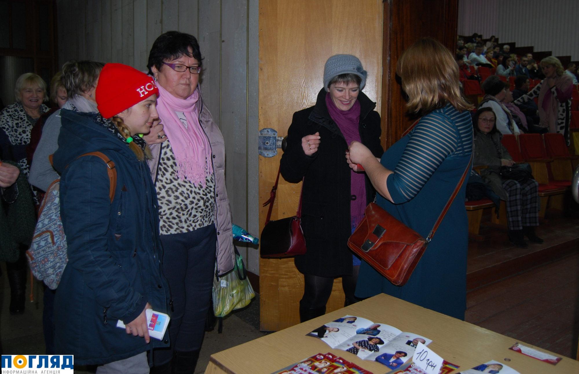 Допрем'єрний показ вистави за участі зірок театру і кіно вперше у Василькові -  - 000DSC 3639 2000x1291