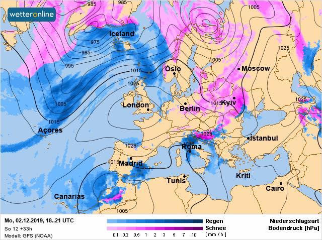 Перший грудневий тиждень в Україні почнеться снігом - прогноз погоди, погода - 02 pogoda2