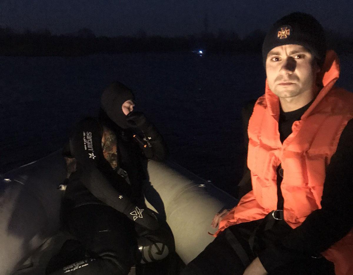 На Київщині підводне полювання ледь не закінчилося трагічно -  - 08 vodolaz