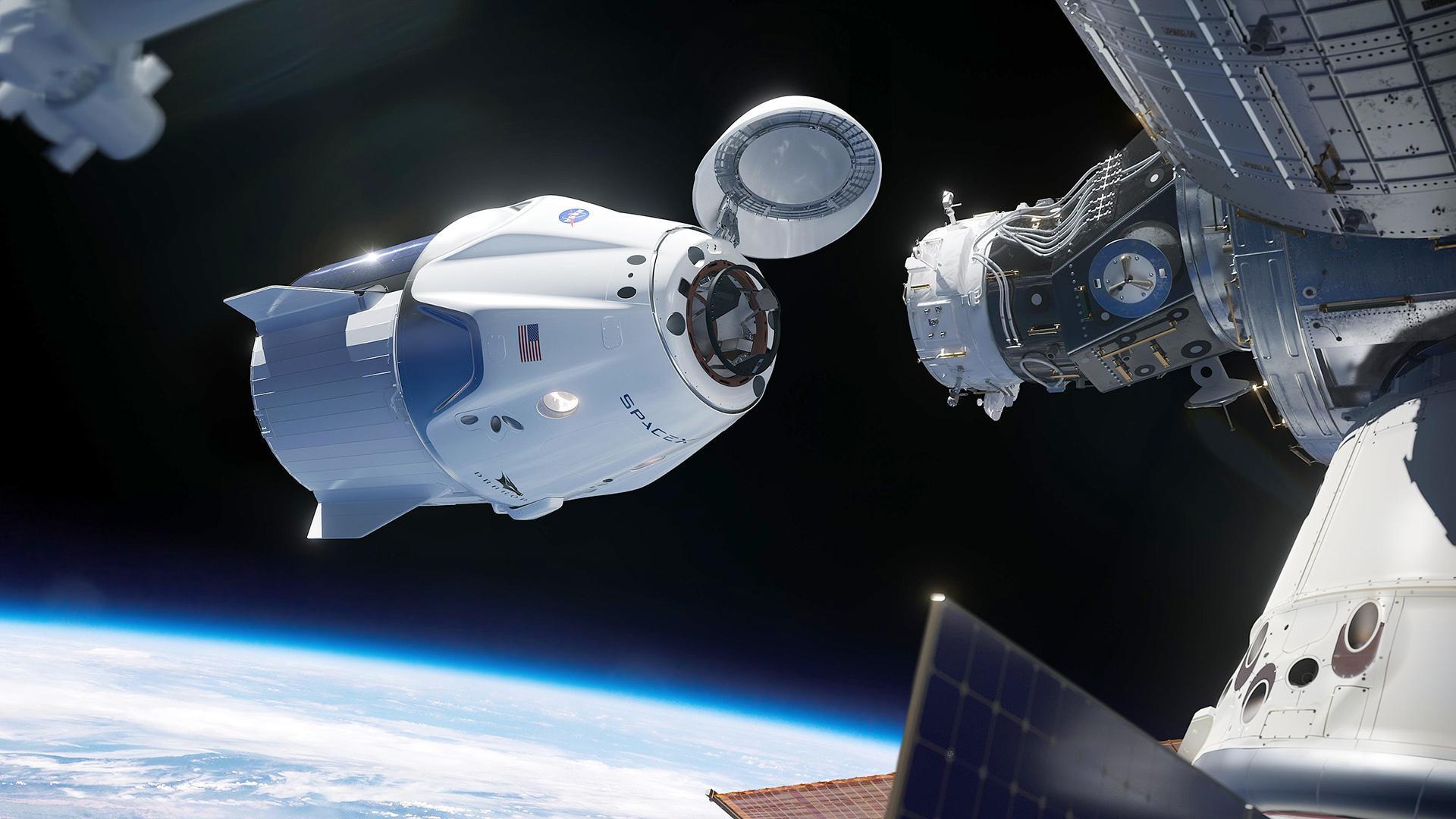 SpaceX сподівається здійснити перший пілотований політ корабля Crew Dragon у лютому - ракета, МКС, SpaceX - 09 dragon