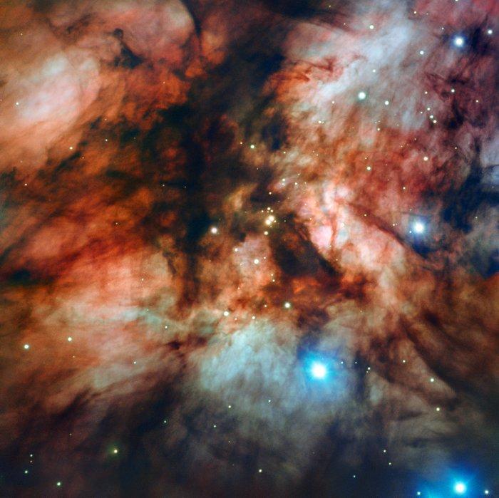 «Дуже великий телескоп» сфотографував найближчу до Землі «колиску зірок» (ФОТО) - телескоп, Сонце, зірки - 10 kolyska zirok
