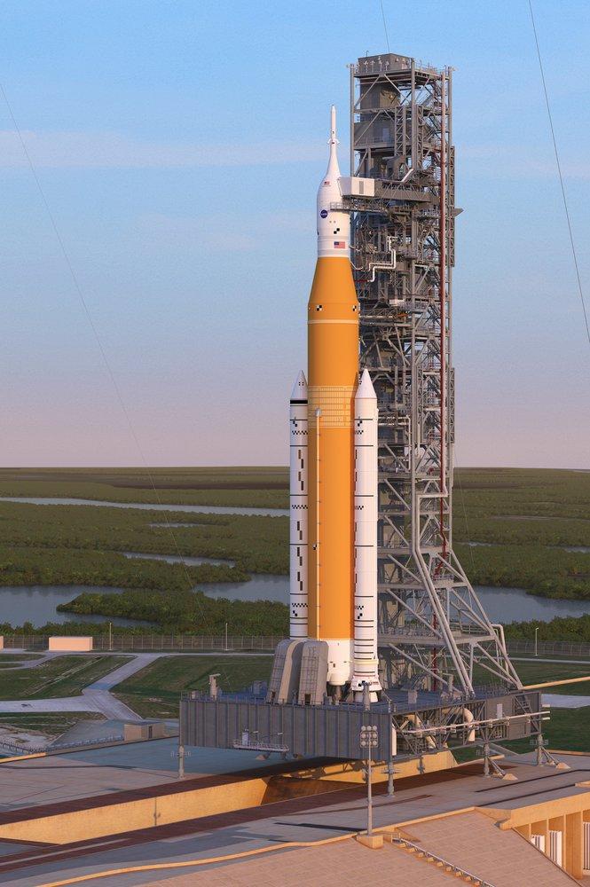 В NASA створили найдовшу ракету в історії - ракета, Місяць, космос, Артеміда, NASA - 10 raketa