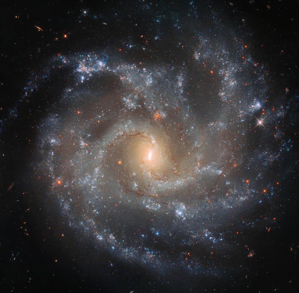 Вибух зірок у далекій галактиці: захоплююче відкриття телескопа «Хаббл» - галактика, всесвіт - 11 galaktyka