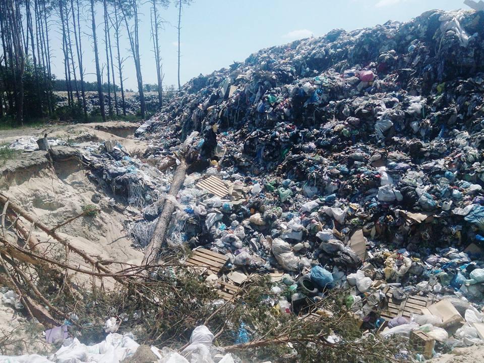 Під Києвом заборонили облаштування ще одного полігону із захоронення побутових відходів - сміття, полігон твердих побутових відходів, полігон, Нове Залісся, Бородянський район - 11 nove zalissya