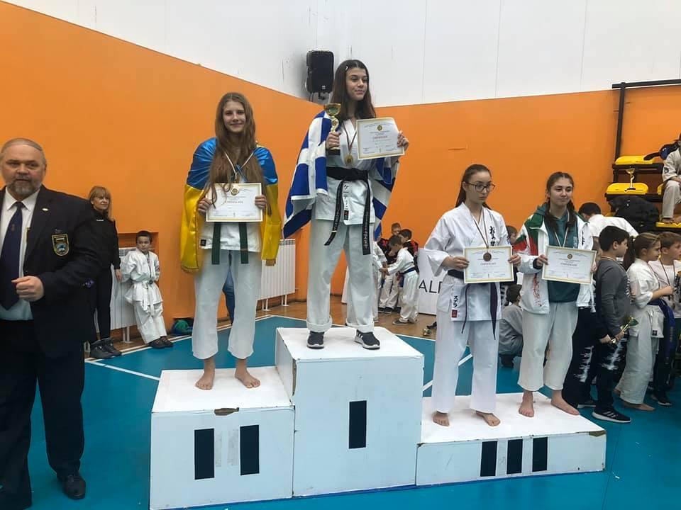 Вишгородчанка стала призеркою міжнародних змагань - київщина, Змагання, Вишгород, Болгарія - 1203 Tat1