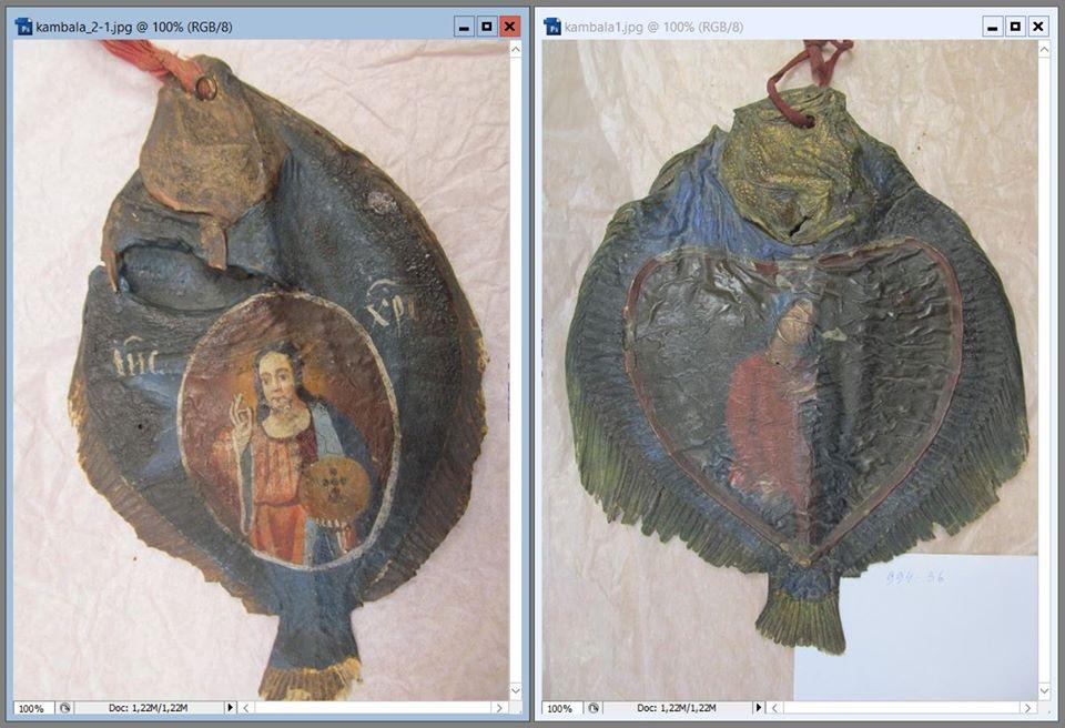 Ікона на сушеній рибі: чумацький оберіг - Україна, світ - 1217 Ikona maks