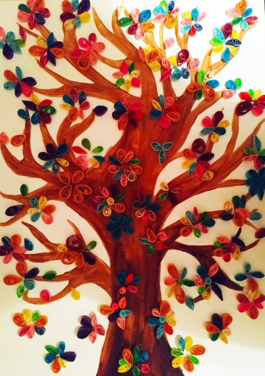 На Миколая у Вишгороді діти створили «Дерево добра і милосердя» - Музей давньоруського гончарства, музей, майстер-клас, київщина, День Святого Миколая, Вишгород - 1219 SM derevo
