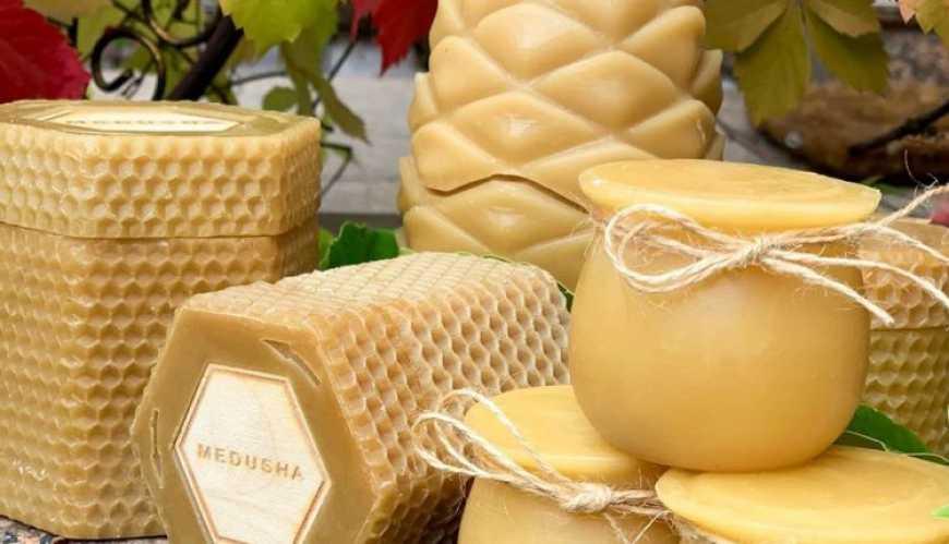 Українське ноу-хау: мед у воскових баночках - Україна, світ, мед, експорт, Економіка - 1225 Med1