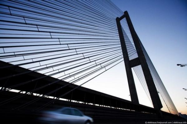 Автомобільний рух найвищим мостом України відкрили 29 років тому - Південний міст, київщина, Київавтодор, Київ - 1225 Pivd mist