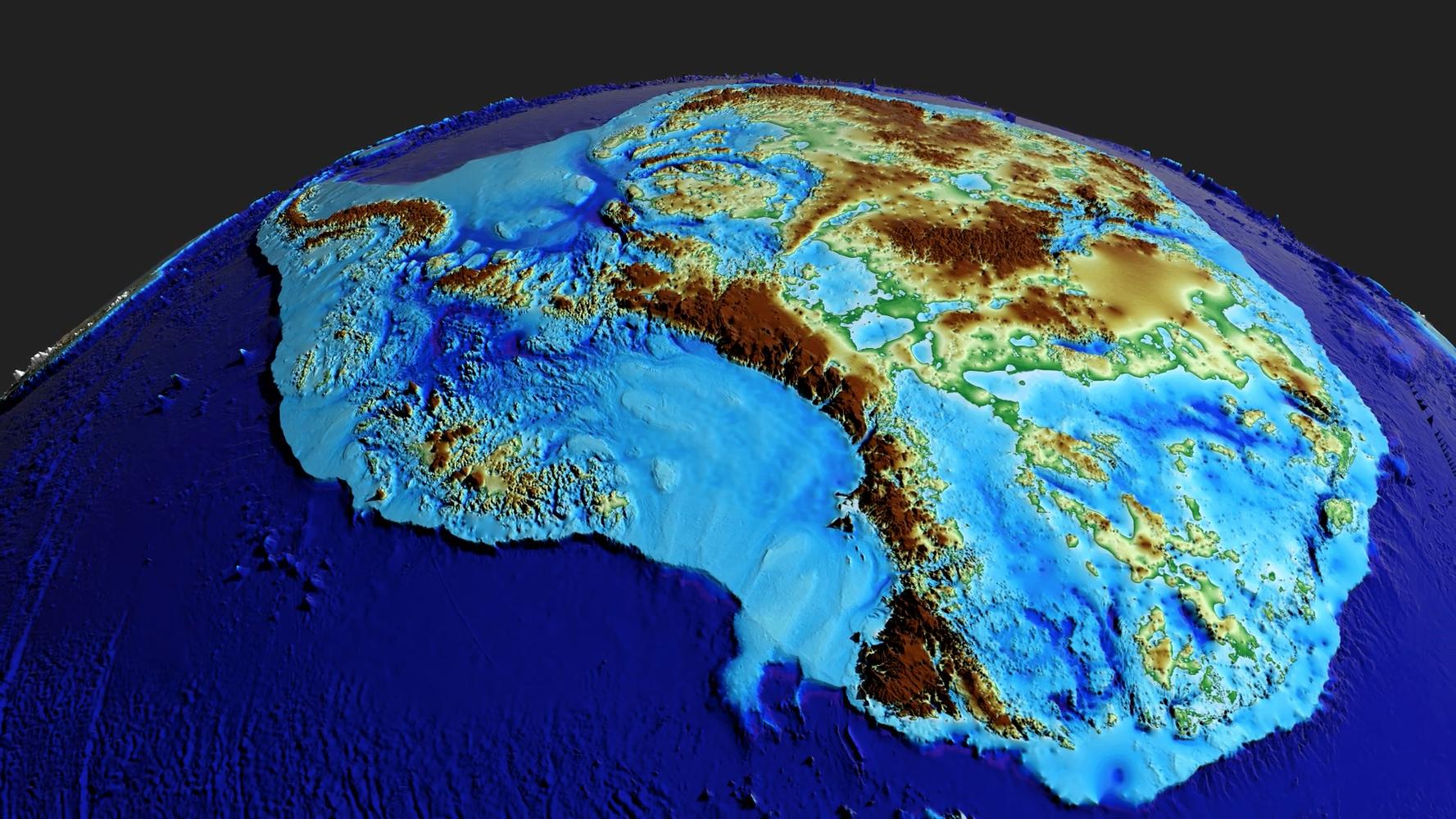 В Антарктиді знайдено найглибше місце на Землі -  - 16 vpadyna