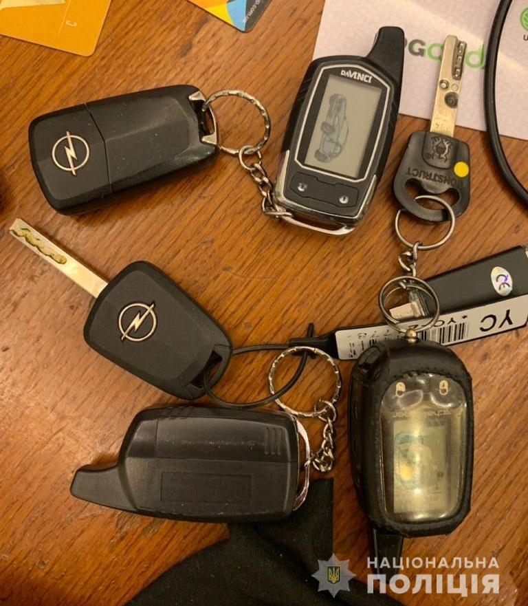 """Jaguar, Lexus, Range Rover... На Київщині затримано """"елітних"""" автовикрадачів (відео) -  - 1ugon2"""