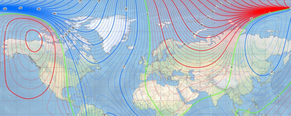 Магнітний полюс Землі змістився швидше, ніж очікували вчені - магнітний полюс - 21 magnytnyj polyus