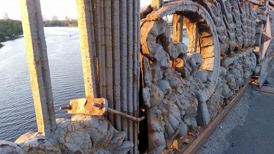 Міст Патона попрощається з радянською  символікою -  - 5d1ca103926b0