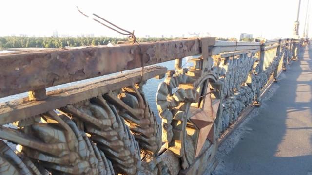 Міст Патона попрощається з радянською  символікою -  - 5d1ca1664007b
