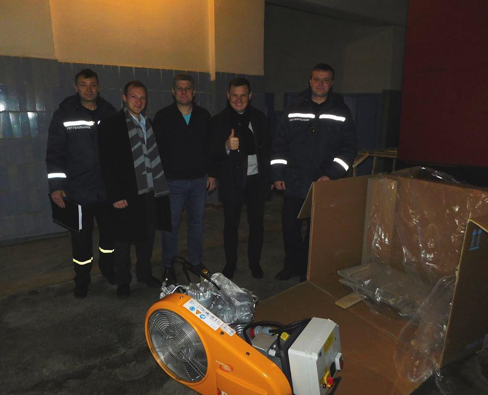 Рятувальники Славутича отримали нове сучасне обладнання -  - 75580163 2578186818930882 41948936990097408 o
