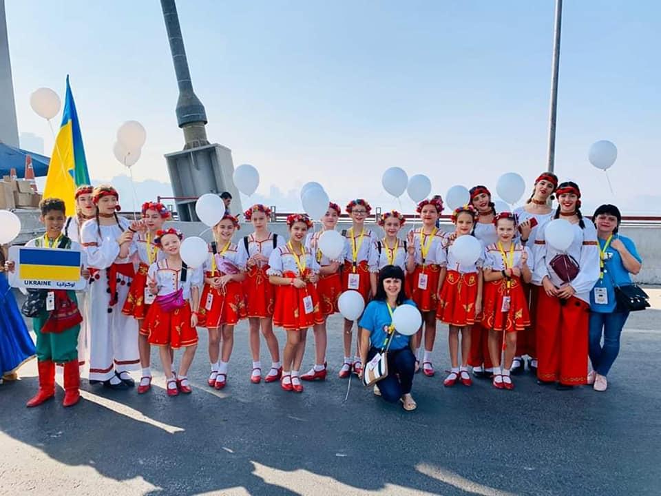 """""""Оксамит"""" з Броварів вразив глядачів на """"World Children Festival EGYPT 2019"""" -  - 78121957 425644481680585 2728057664712998912 n"""