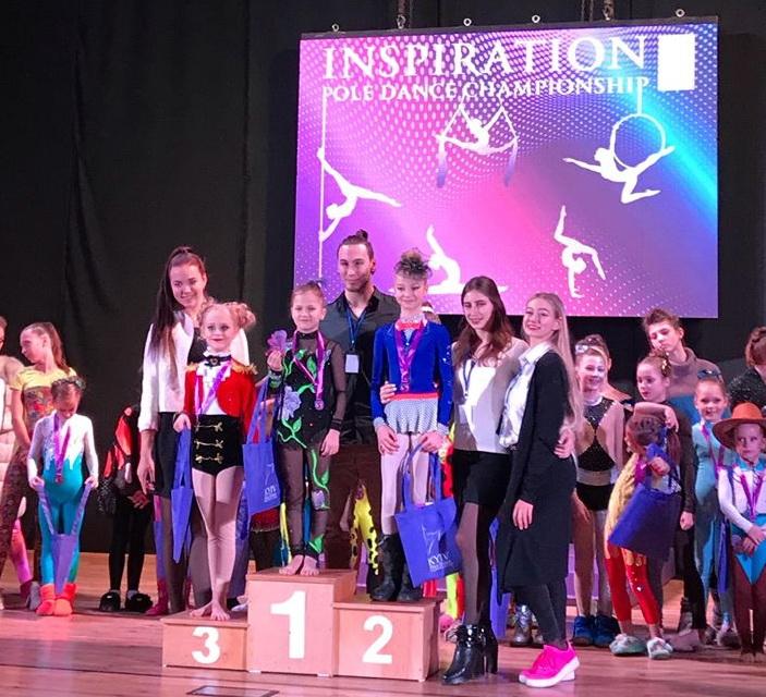 Юні акробатки з Василькова відвоювали перші місця на «Inspiration Championship»