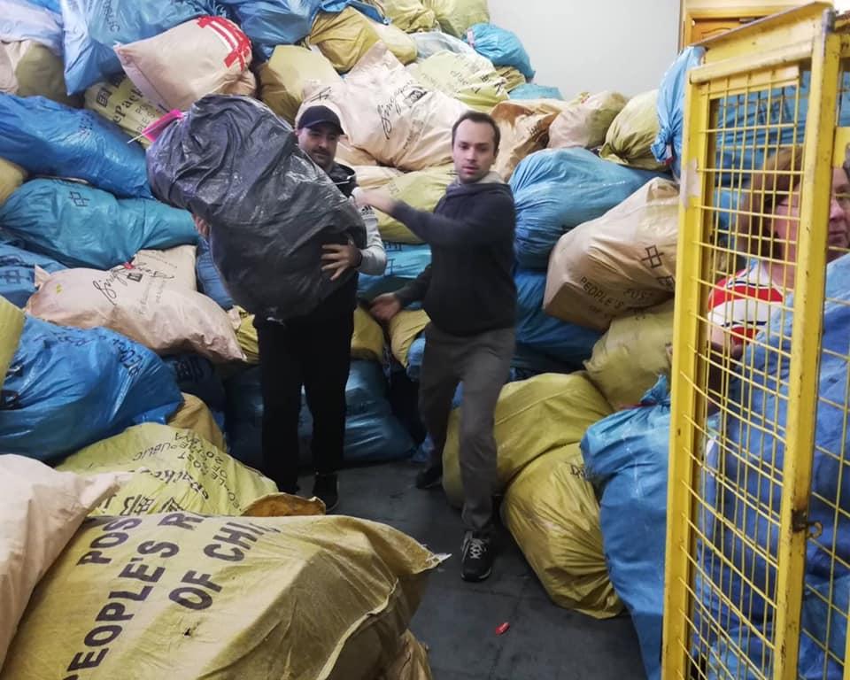 """В аеропорт """"Бориспіль"""" прибув літак із  майже мільйоном посилок з """"чорної п'ятниці"""" -  - 78546580 3096006567095658 7172390574509522944 n"""