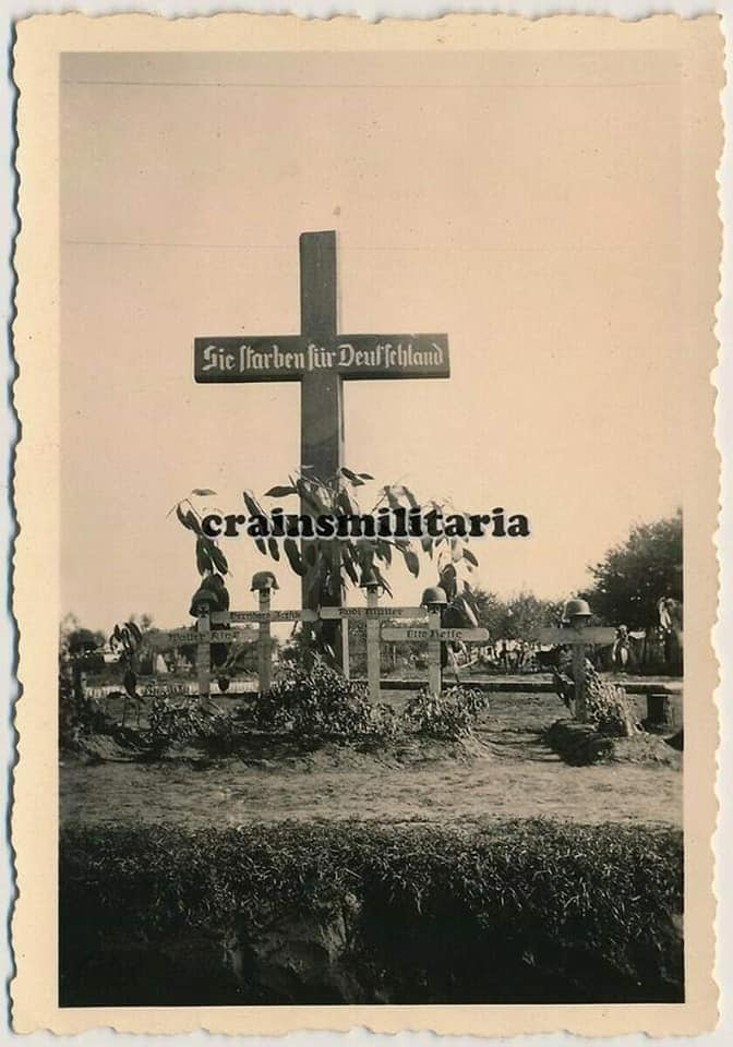 Фастівський краєзнавець знайшов архівні фото німецького кладовища   часів ІІ світової - Фастів, німецькі поховання, архіви - 78660484 2509187375834290 3340853067246469120 n