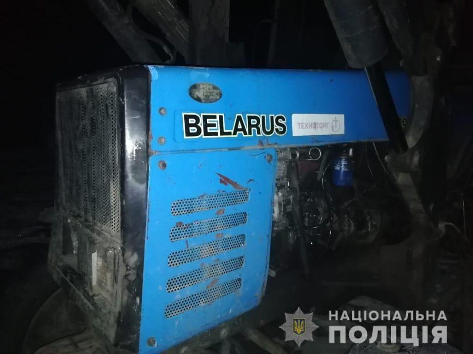 Чоловік перевіз до Кіровоградщини викрадений на Бориспільщині трактор -  - 78885942 2650651118323377 8266458936828231680 o