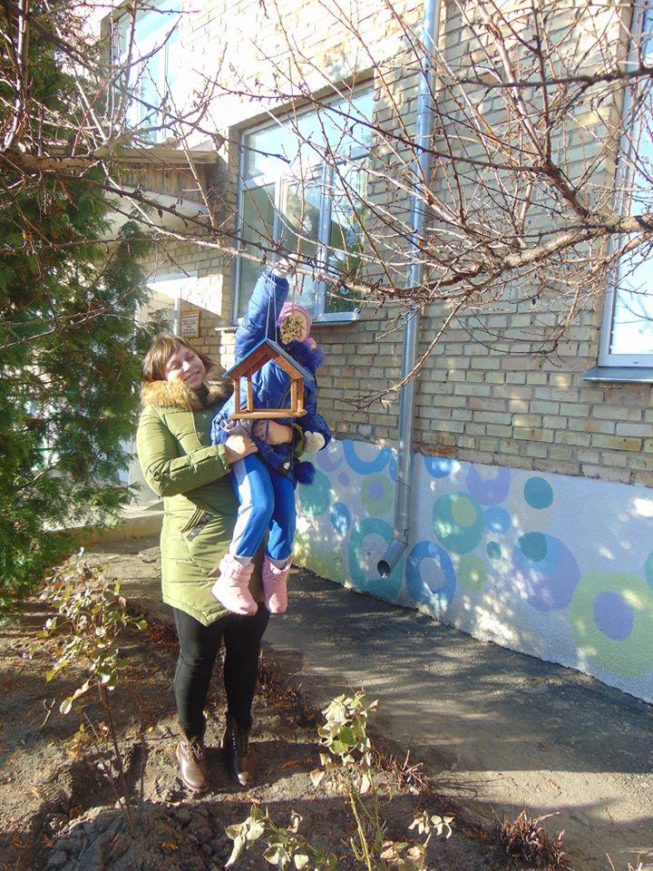 """У Чорнобильському заповіднику відбулася акція """"Допоможемо зимуючим птахам"""" -  - 79097040 551972008693224 7067471627344150528 n"""