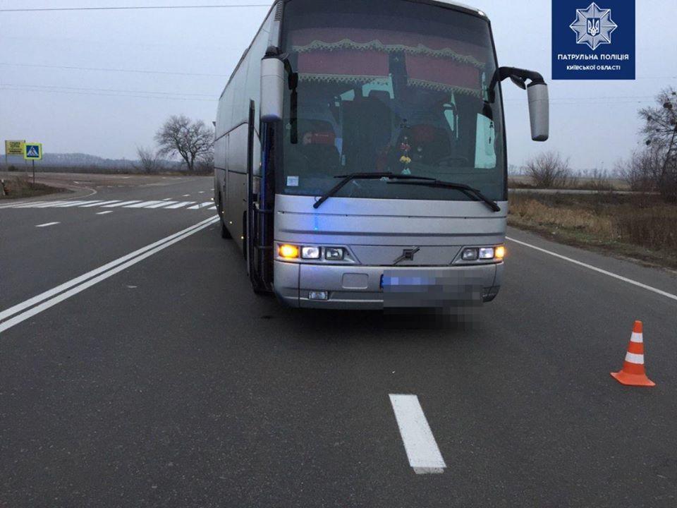 Бориспільщина: на трасі біля с. Старе автобус збив жінку -  - 79133977 1604844176355836 6448245065335701504 o