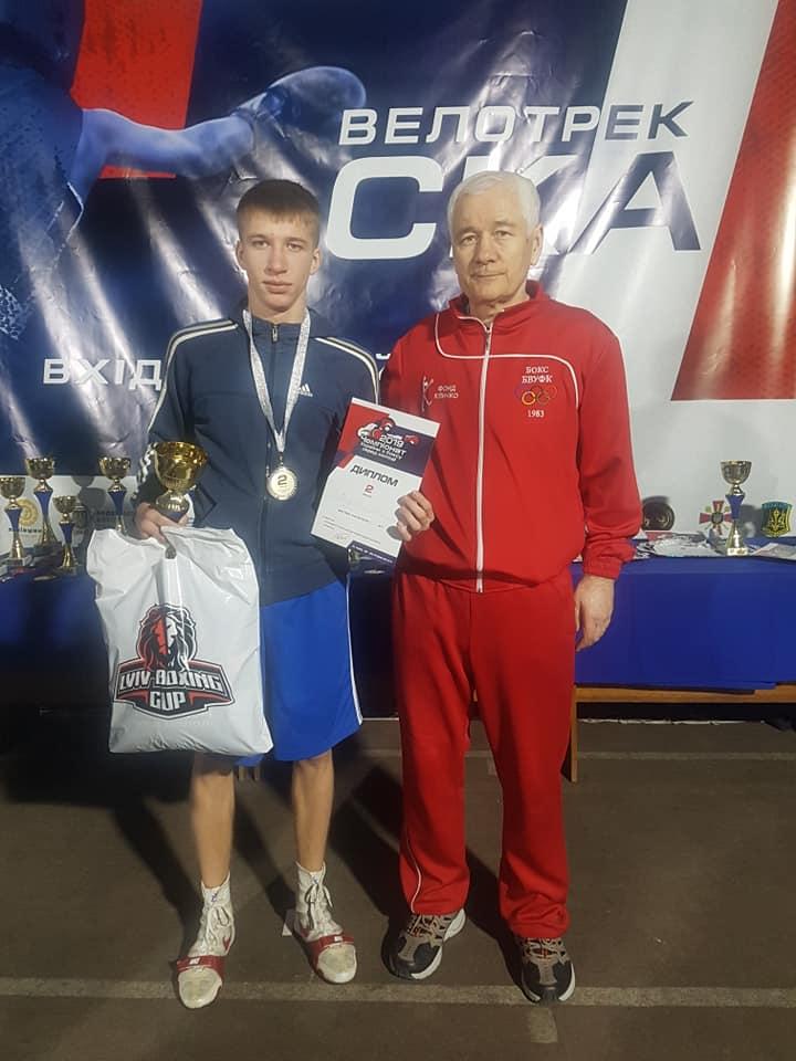 Представник Броварів - срібний призер чемпіонату України з боксу -  - 79340620 2454697758103653 461401679409971200 n