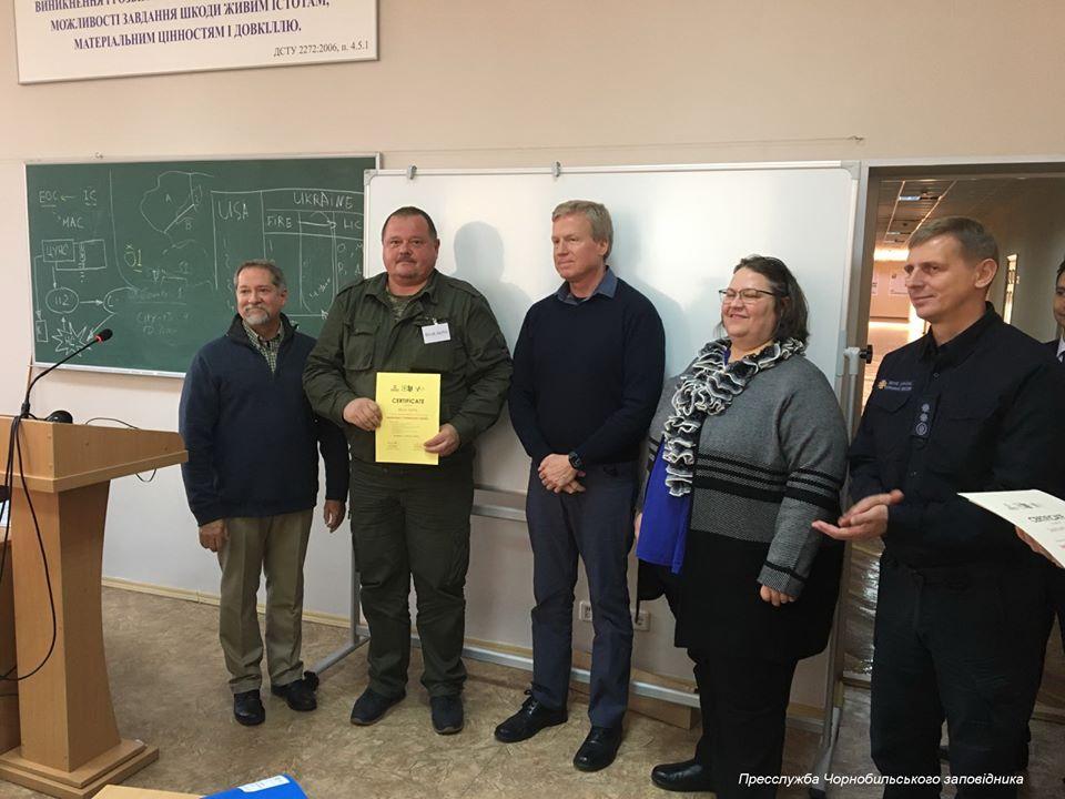 Лісова служба США провела семінар-тренінг з фахівцями підприємств та ДСНС України -  - 79427212 551219812101777 6057542352958914560 o