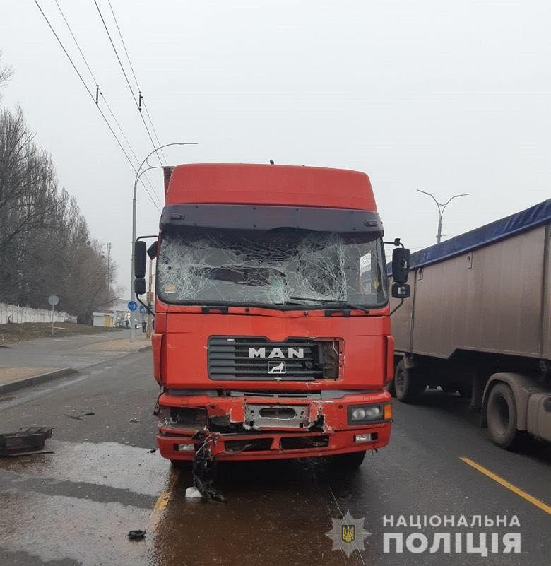 79462210_870633856666035_4311971217553752064_n У Києві вантажівка в'їхала у маршрутку, п'ятьох пасажирів госпіталізували