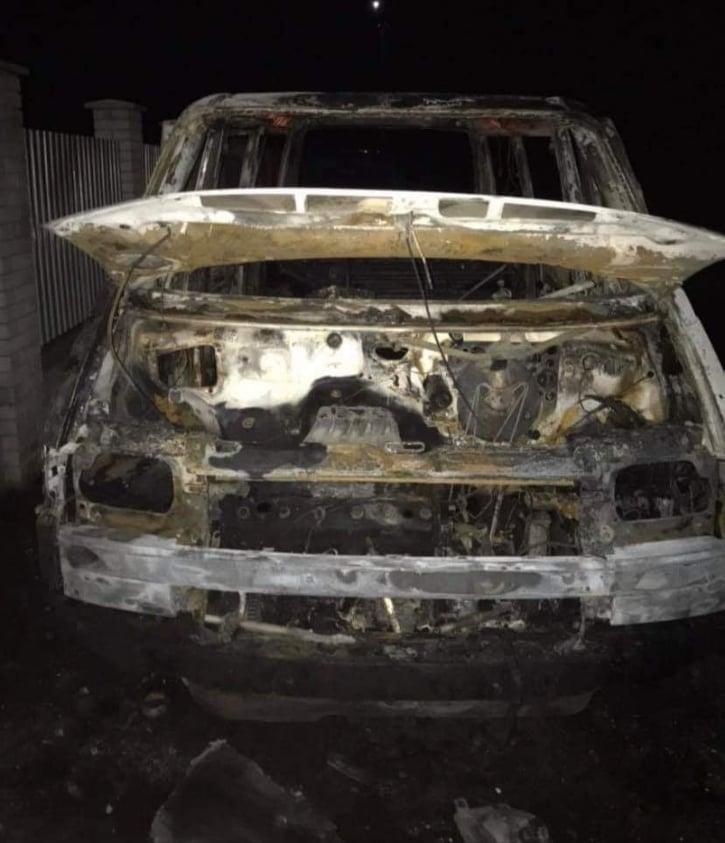 На Обухівщині загасили палаючий мікроавтобус -  - 79512104 655336131668447 2792965839010136064 n
