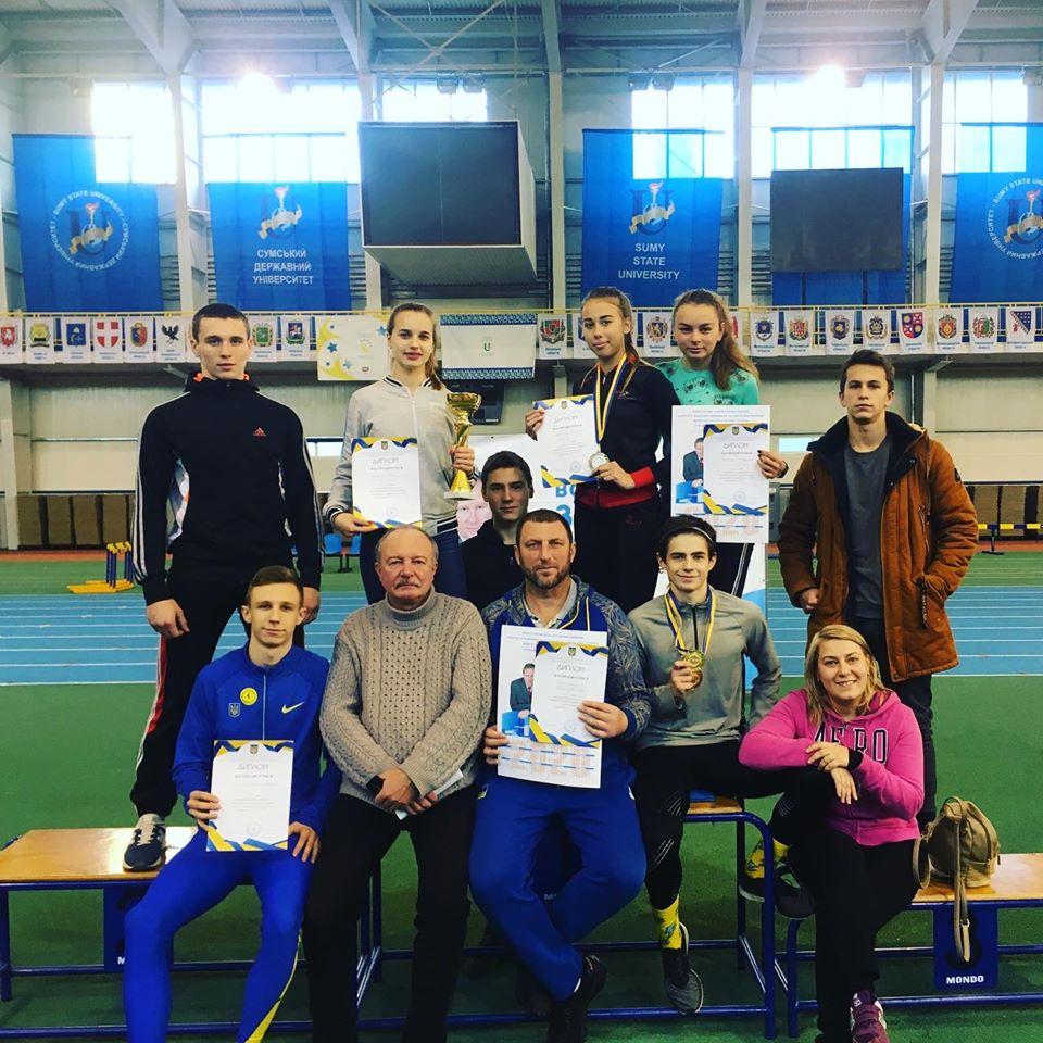 Здобутки юних легкоатлетів з Білої Церкви на Всеукраїнських змаганнях -  - 79600148 2520495594699448 369164164351918080 o