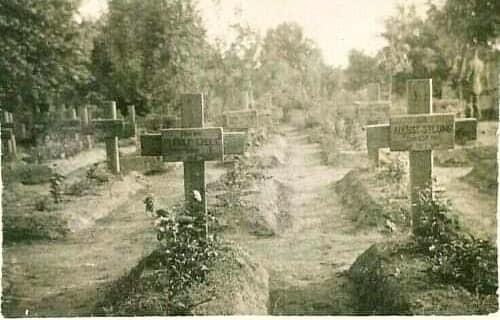 Фастівський краєзнавець знайшов архівні фото німецького кладовища   часів ІІ світової - Фастів, німецькі поховання, архіви - 79760070 2509186862501008 3436947359857115136 n