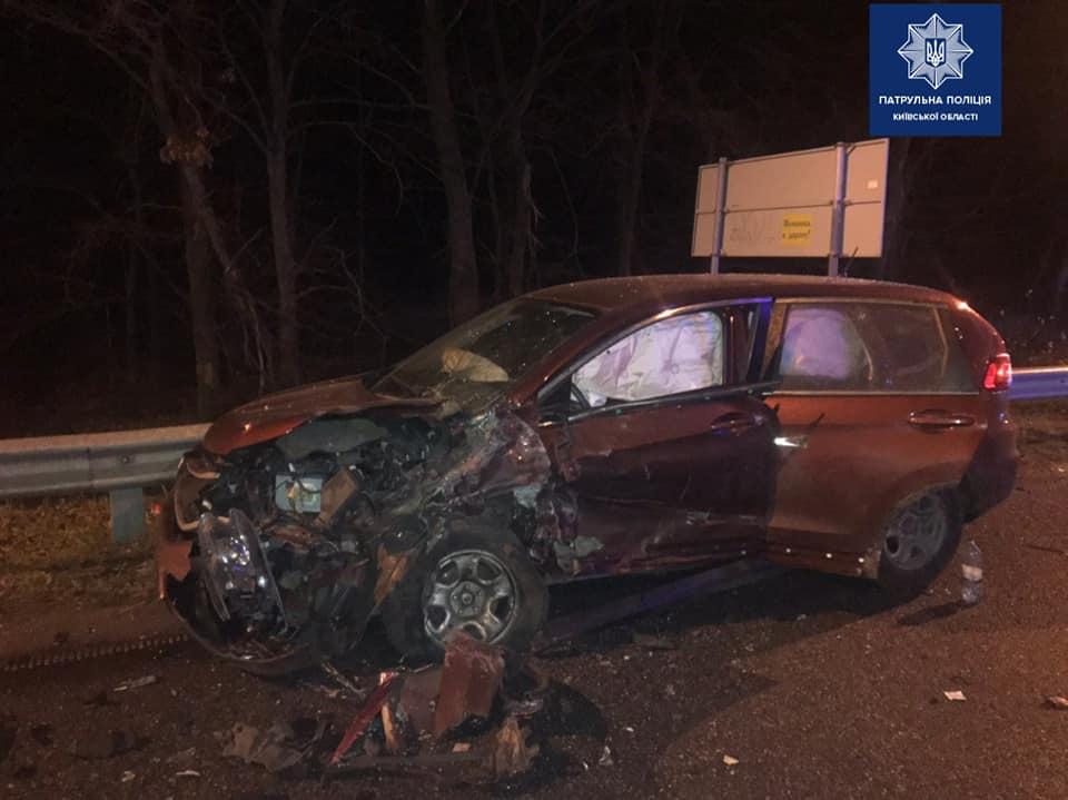 ДТП з постраждалими в Києво-Святошинському районі -  - 79808097 1614798892027031 7351671597595361280 n