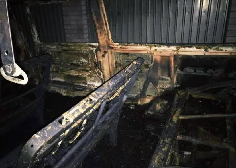 На Обухівщині загасили палаючий мікроавтобус -  - 79908753 2933804959987394 5299325993507356672 n