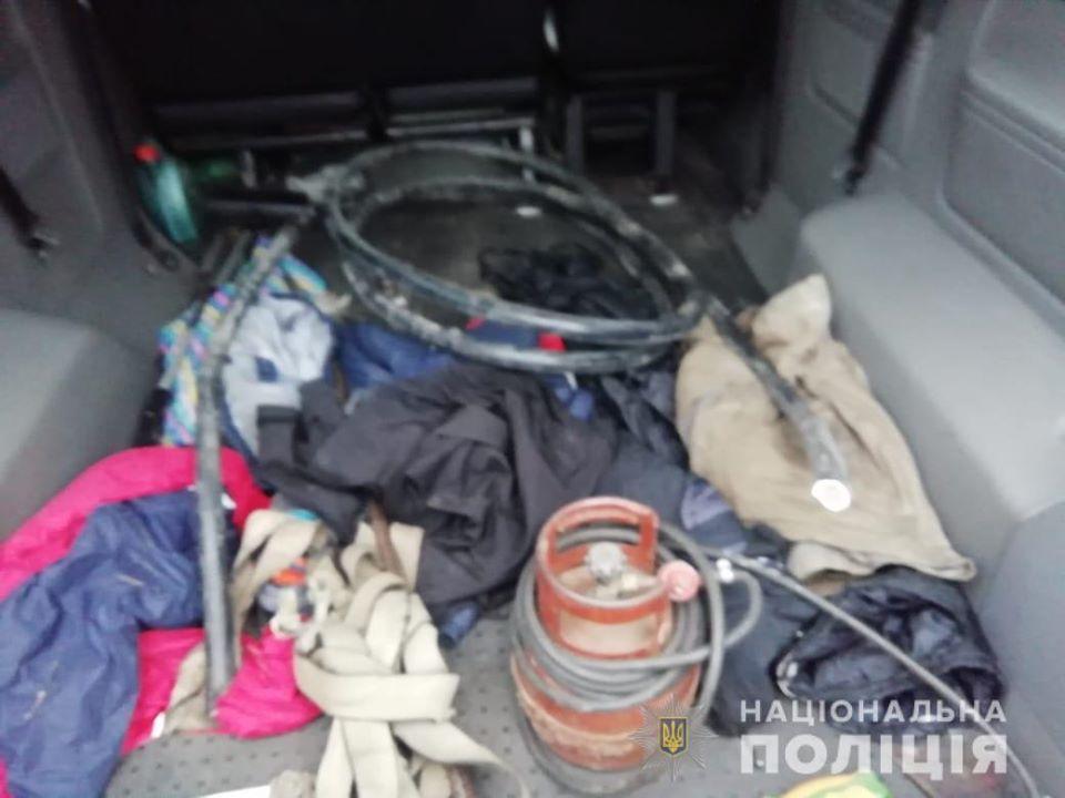 Поліцейські Обухівщини затримали групу крадіїв, які позбавили Трипільську ТЕС телефонного зв'язку -  - 80022191 2659350004120155 3029319736144953344 o