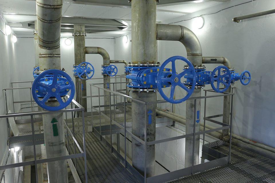 У Борисполі відкрили станцію знезалізнення та резервуару чистої води -  - 80041386 2548745658580978 4647143945573236736 o