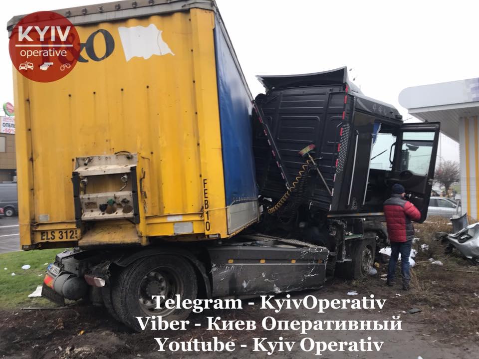Водій вантажівки влаштував масштабну ДТП заснувши за кермом -  - 80069205 879329759129778 371792521128312832 n