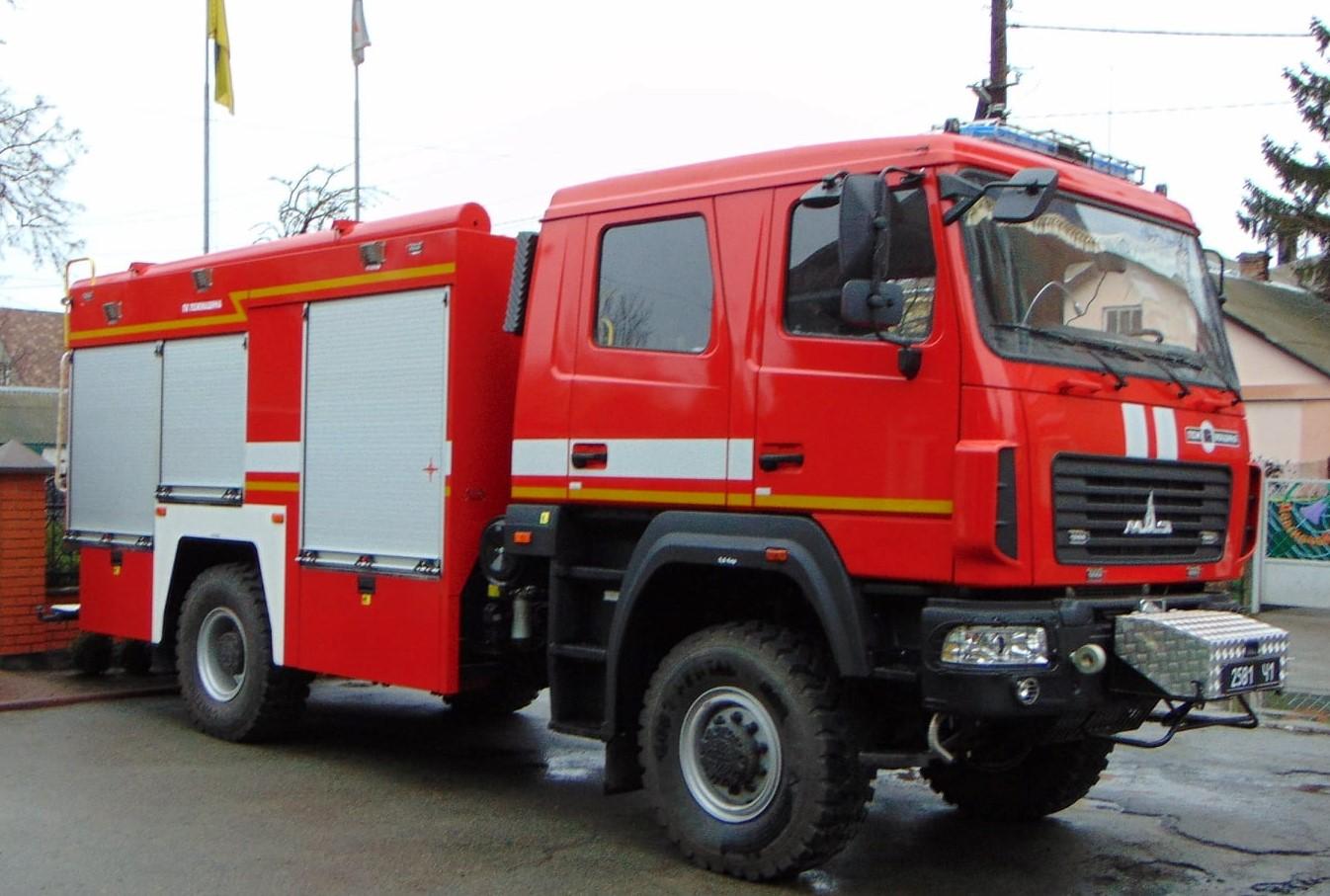 Обновка ДСНСників: фастівські рятувальники отримали нове пожежно-рятувальне авто - Фастів - 80246703 2535668096551280 6792933130190716928 o