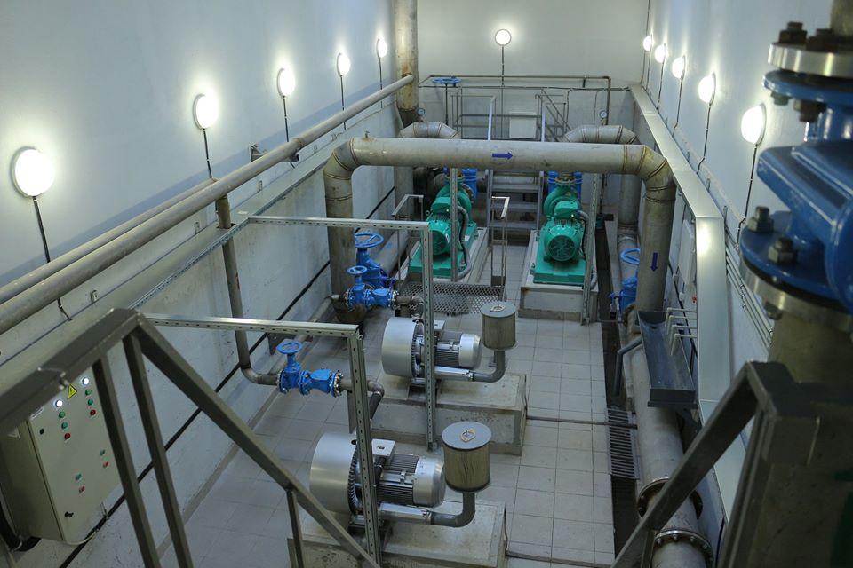 У Борисполі відкрили станцію знезалізнення та резервуару чистої води -  - 80262631 2548745401914337 1887779714483879936 o