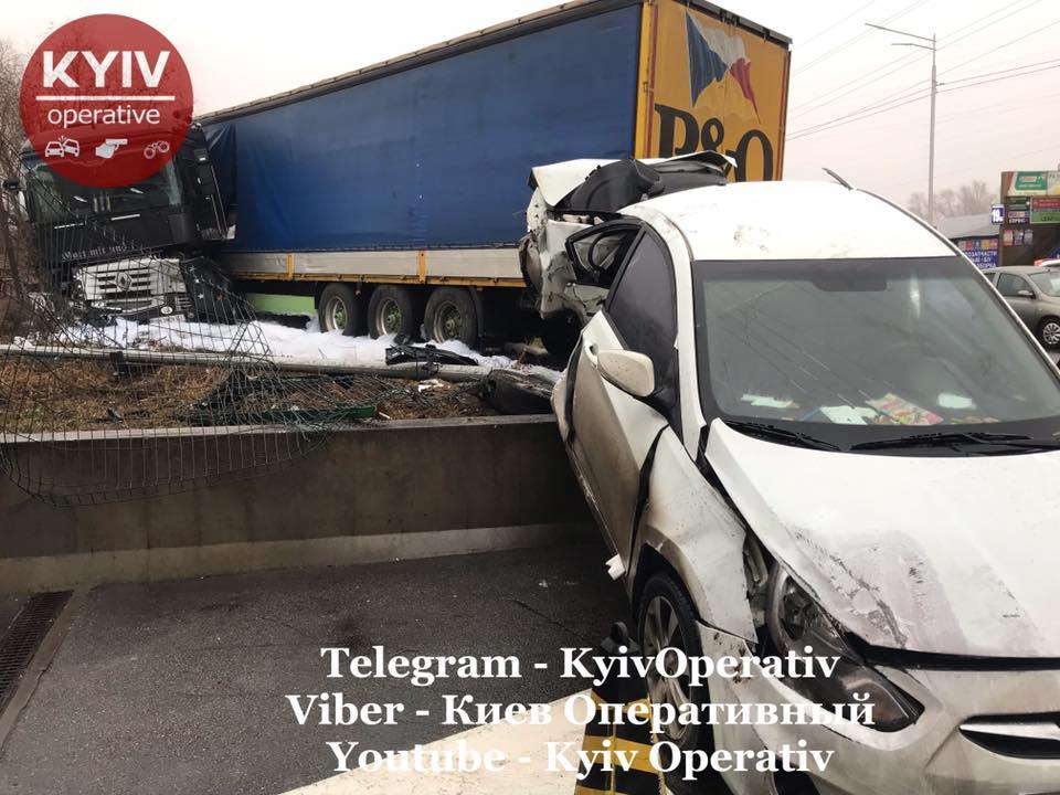 Водій вантажівки влаштував масштабну ДТП заснувши за кермом -  - 80276908 879329182463169 6977892035617357824 n