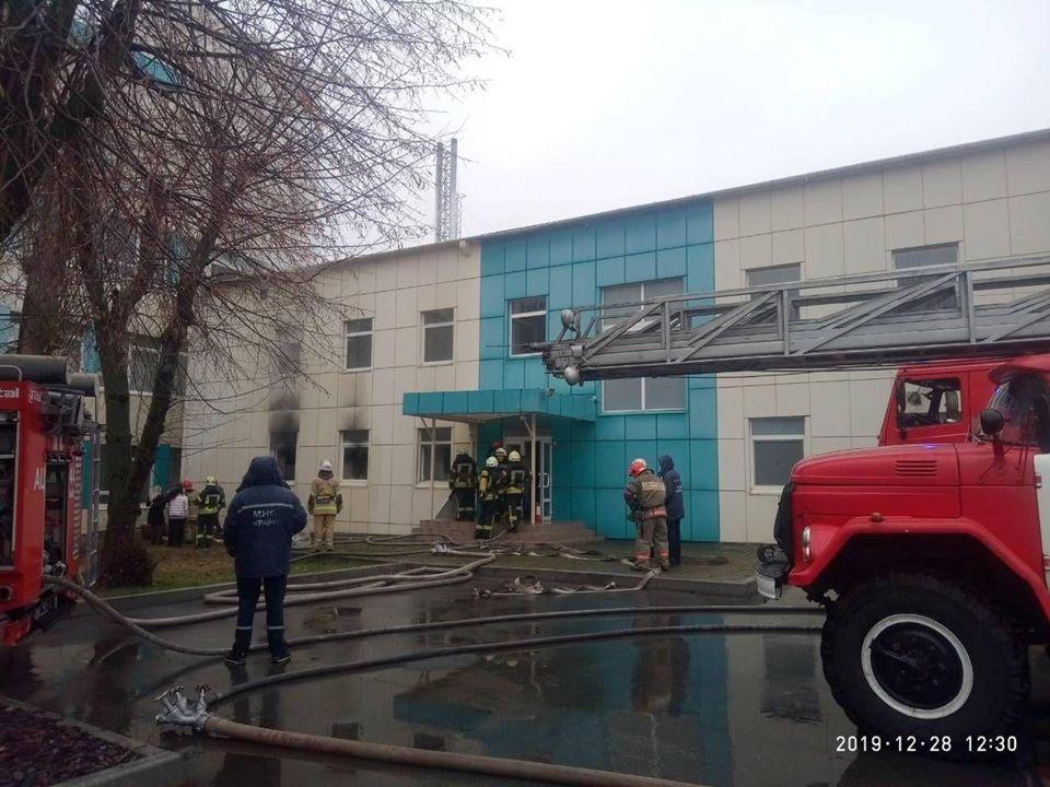 У Києві горів Інститут токсикології -  - 80391402 2663079247105334 7772132751091695616 o