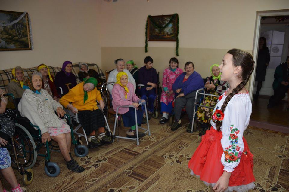 Свято для стареньких у Миронівці -  - 80562754 591156455006160 8020172141842399232 o