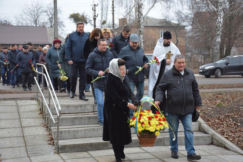 У Миронівці вшанували учасників ліквідації наслідків аварії на ЧАЕС -  - 80629178 579579866163819 3588157013567209472 o