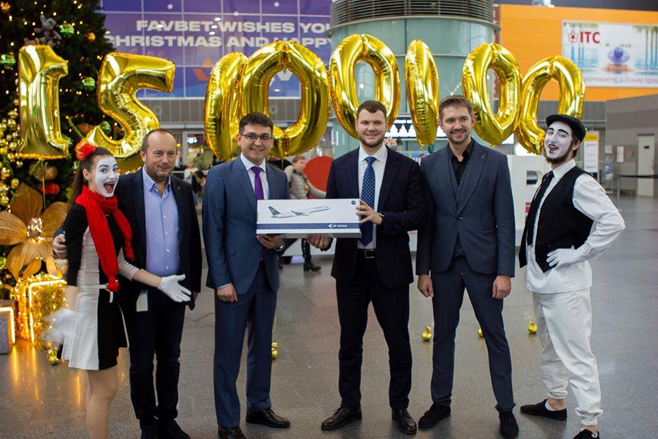 """Аеропорт """"Бориспіль"""" зустрів  15-мільйонного пасажира у 2019 році -  - 80724807 2914661185219088 1865623988248510464 o"""