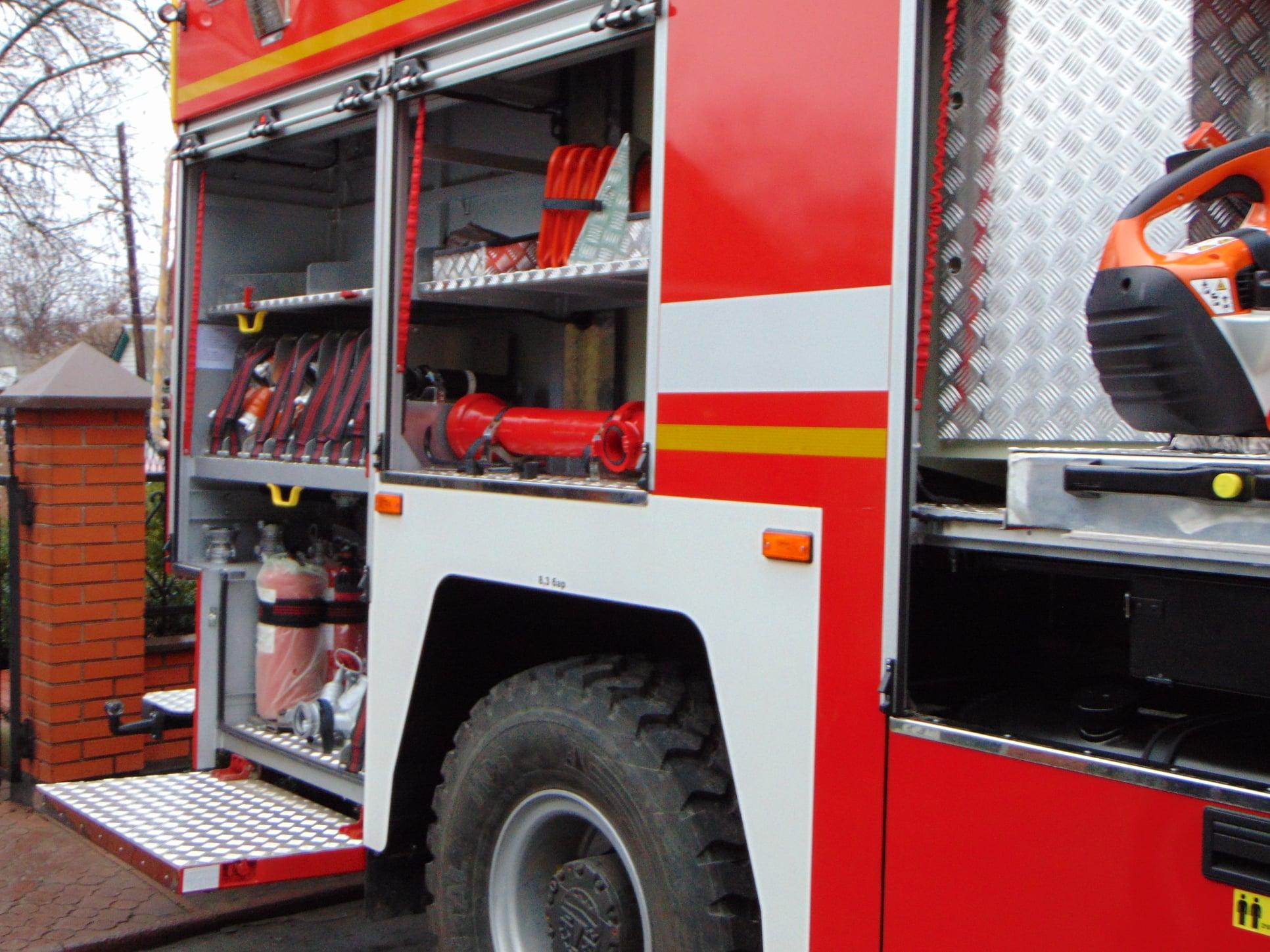 Обновка ДСНСників: фастівські рятувальники отримали нове пожежно-рятувальне авто - Фастів - 81183439 2535669199884503 8018694441164341248 o