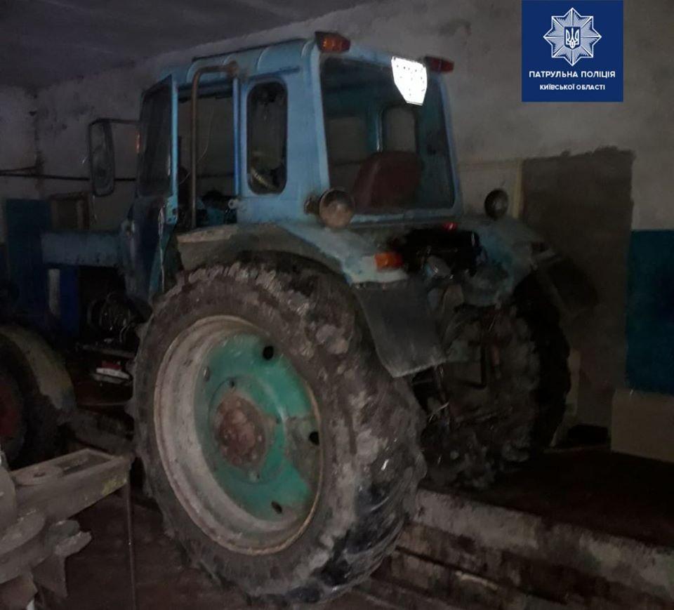 П'яного тракториста виявили бориспільські патрульні -  - 81317096 1625110064329247 1482526876973924352 o