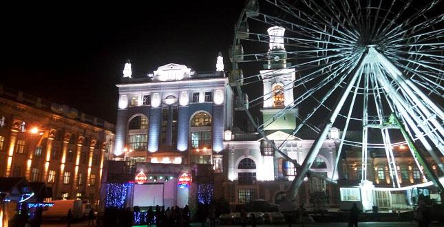Новорічні заходи на Подолі порадують і киян і столичних гостей -  - 9736