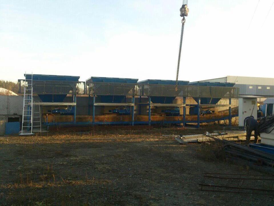 Поблизу курортного Ворзеля демонтують асфальтний завод - Приірпіння, київщина, Ворзель, Бучанська міська рада, Буча, Асфальтний завод, Алькор - Asf demont 2